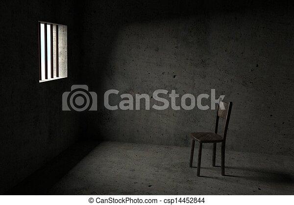 Detained - 3D Prison - csp14452844