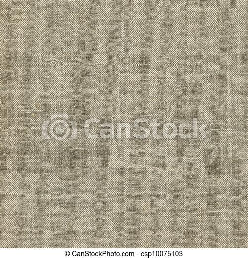 detaljerad, solbränna, säckväv, tyg, utrymme, årgång, grå, rustik, linne, naturlig, bakgrund, strukturerad, grunge, gammal, beige, avskrift, gulaktig, struktur - csp10075103