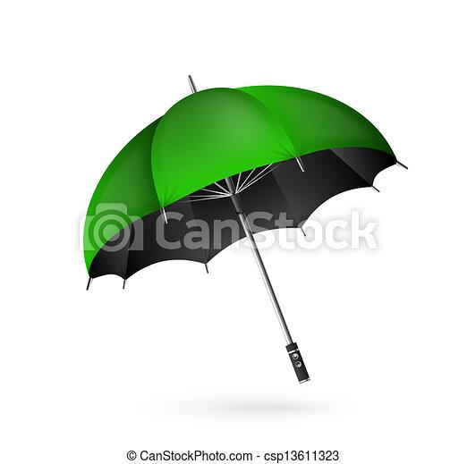Vector detalló el icono del paraguas - csp13611323