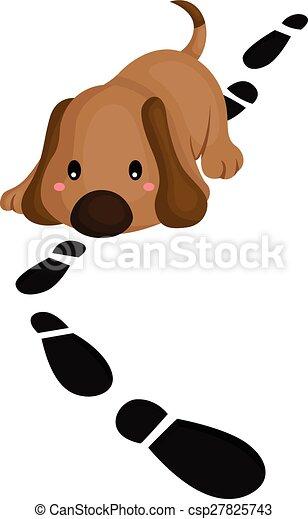 Detective Dog - csp27825743