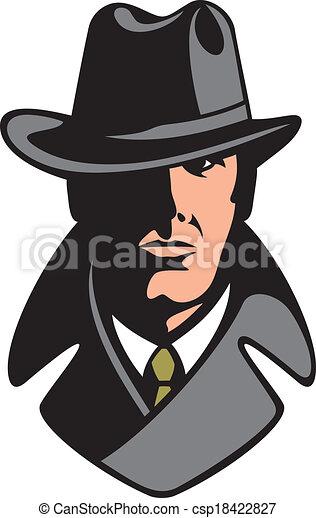 detective, particulier - csp18422827