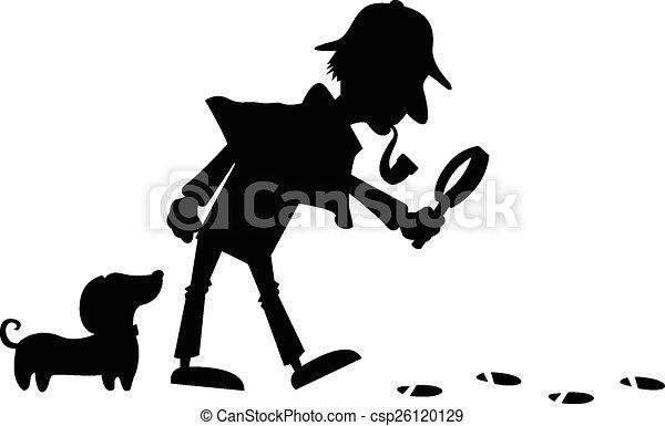 Detective Silhouette - csp26120129