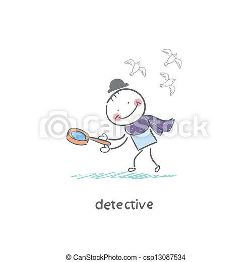 Detective - csp13087534