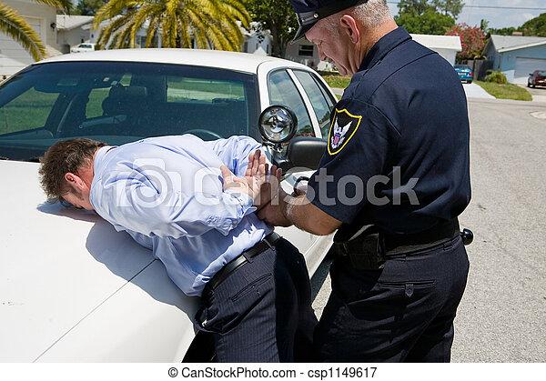 Bajo arresto - csp1149617