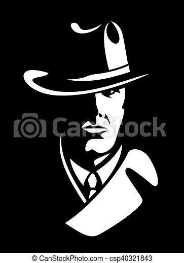 detetive, privado - csp40321843
