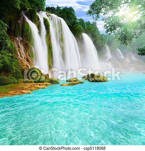 Detian waterfall - csp5118068
