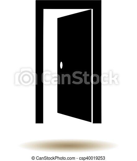 deur open - csp40019253