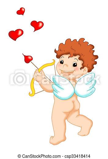 Deus Amor Colorido Ilustracao