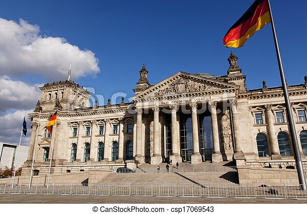 Deutscher Bundestag German Parliament - csp17069543