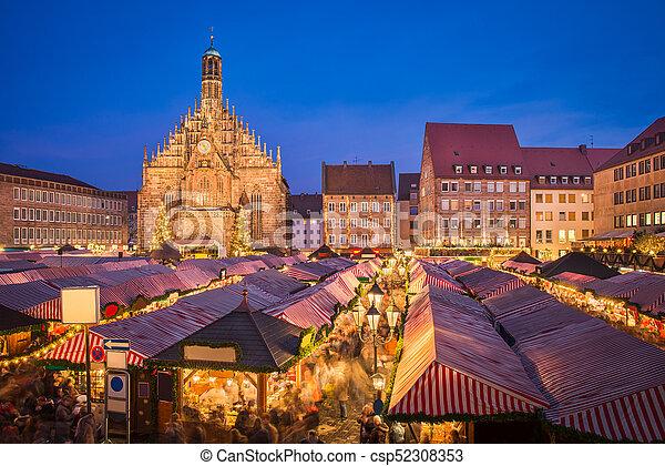 Deutschland Weihnachtsmarkt.Deutschland Weihnachtsmarkt Nürnberg