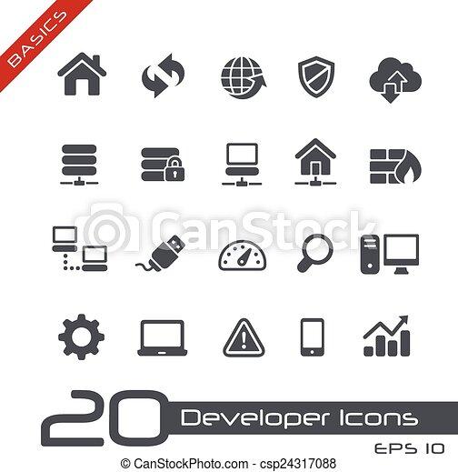Developer Icons // Basics - csp24317088