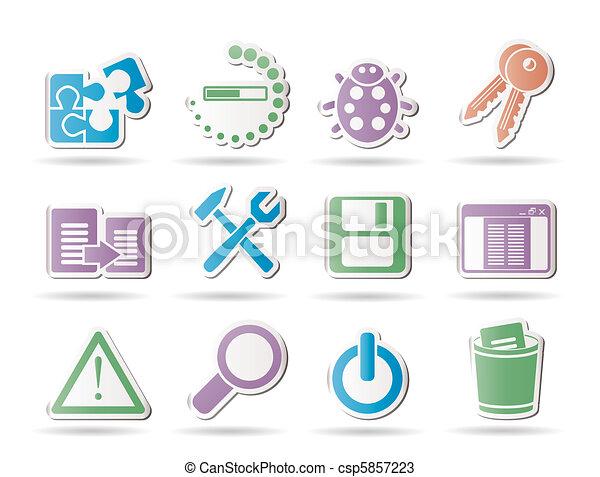 developer, programming, application - csp5857223
