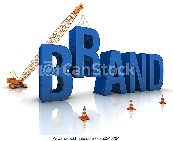 Developing a Brand - csp6346294
