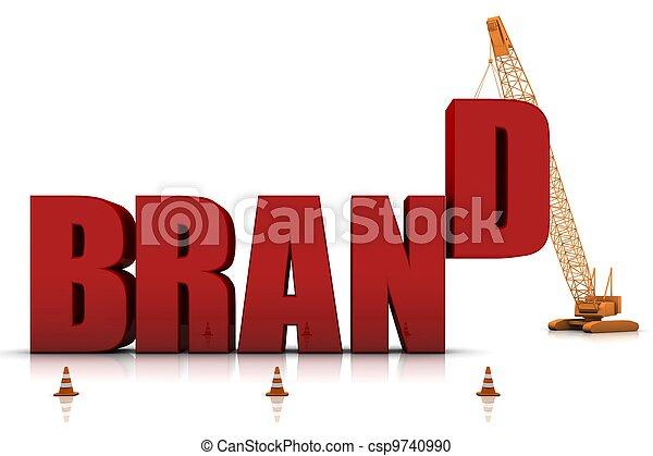 Developing a Brand - csp9740990