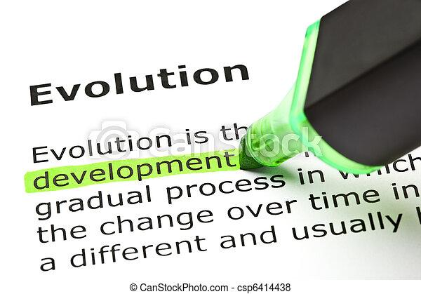 'development', mis valeur, 'evolution', sous - csp6414438