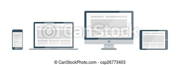 Device icons set - csp26773403