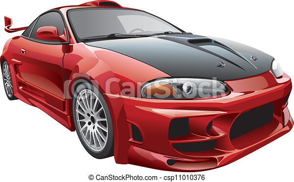 devil's car - csp11010376