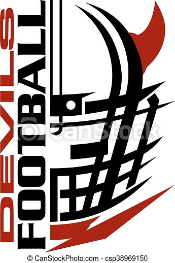 devils football - csp38969150