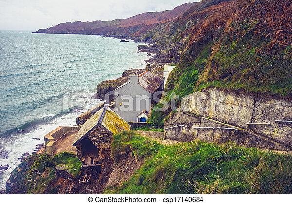 Devon hallsands inghilterra abbandonato villaggio foto for Piani di costruzione di cottage gratuiti