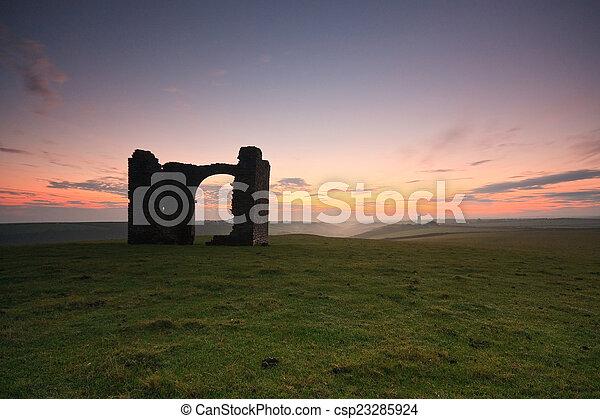 Devon, UK. - csp23285924