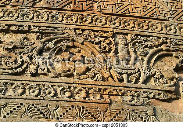 Dhamekh Stupa Sarnath India - csp12051305