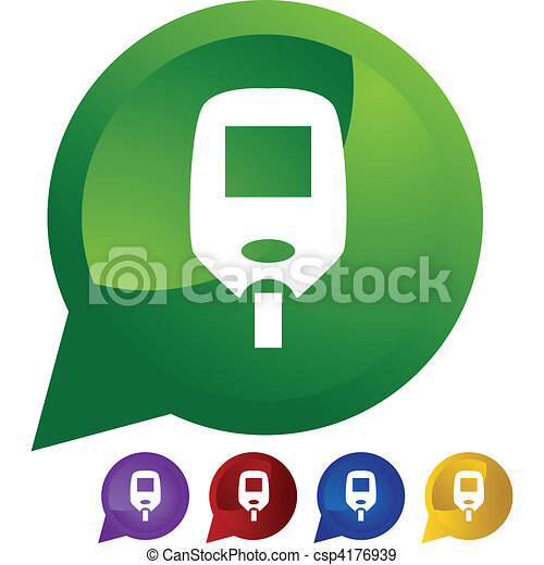 Diabetes Test Monitor - csp4176939
