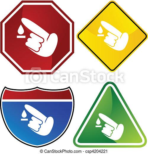 diabetes test icon set vector clip art search illustration rh canstockphoto com free diabetes clipart images