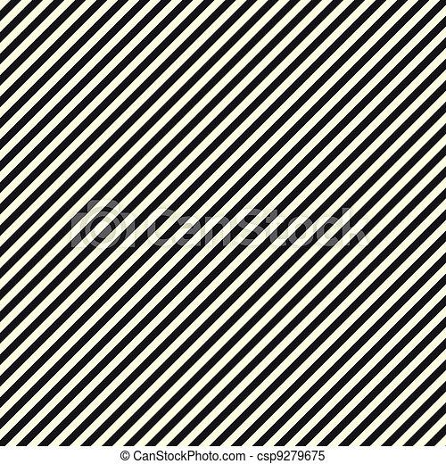 diagonaal, black , papier, streep, witte  - csp9279675