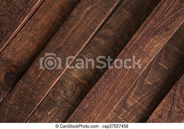 Diagonal Dark Wooden Texture Background Brown Old Wood Planks