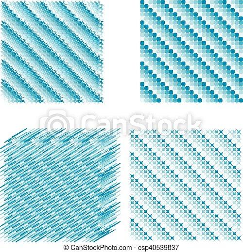 Diagonal Ensemble Pixel Fond Glace