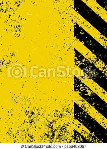 Diagonal hazard stripes texture. EPS 8 - csp6482067