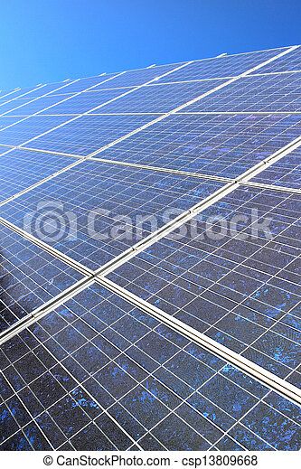 Diagonal solar panel - csp13809668