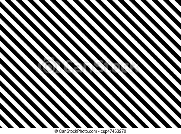 abstract black and white stripe pattern background Clipart Image