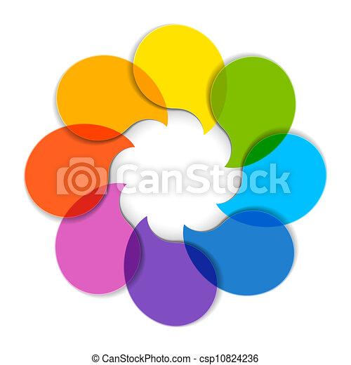 diagram, cirkel - csp10824236