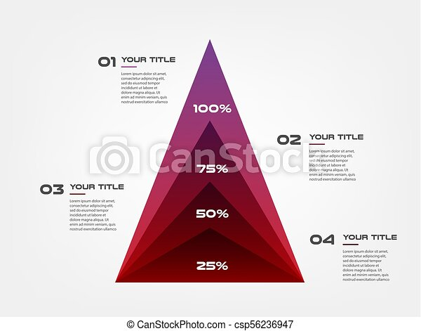 diagram concentrate pyramid elements gradient infographics. some of, Presentation Pyramid Template, Presentation templates