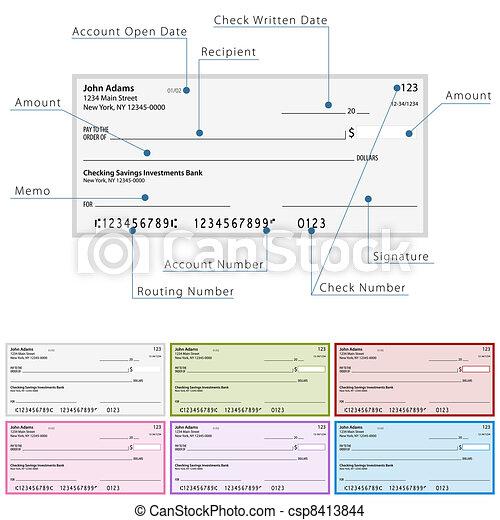 diagram, controleren, leeg - csp8413844