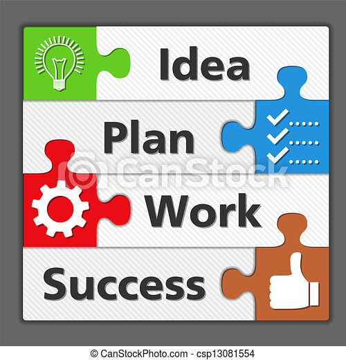Diagram of Success - csp13081554