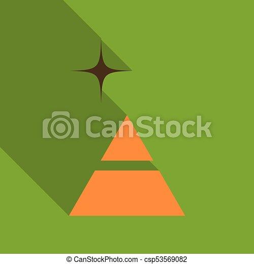 diagram, piramida, trójkąt, processes., strony, opcje, wykres, infographics., 2, kroki - csp53569082
