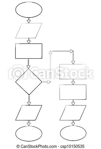 Diagrama vaco bloque ramificacin algorithm diagrama diagrama vaco bloque ilustracin de archivo ccuart Images