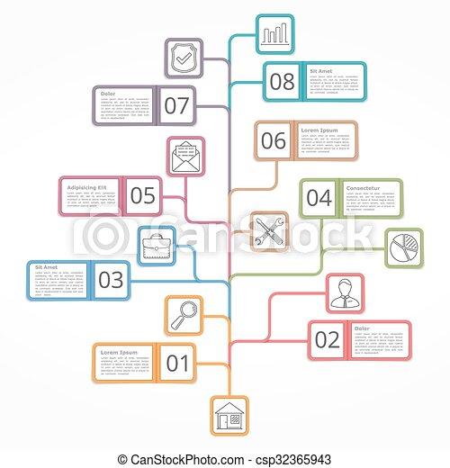 Tannenbaum Diagramm.Diagramm Baum