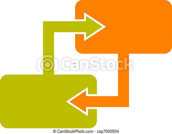 Diagramm, block. Diagramm, symbol, block.