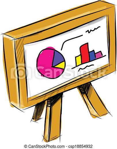 Diagramm, tabelle, buero. Diagramm, skizze, abbildung,... Vektoren ...