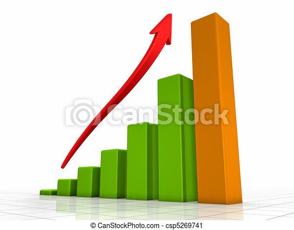 diagramme croissance - csp5269741