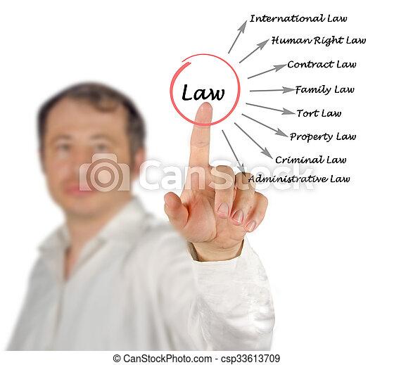 diagramme, droit & loi - csp33613709