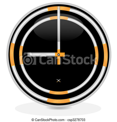 Dial and cigarettes - csp3278703