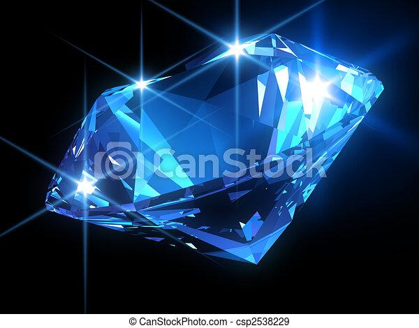 diamant, glänzend - csp2538229