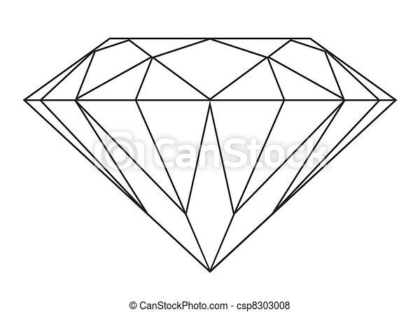 Diamantenriss - csp8303008