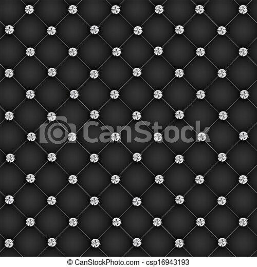 diamant, illustratie, knopen, vector, luxe, achtergrond - csp16943193