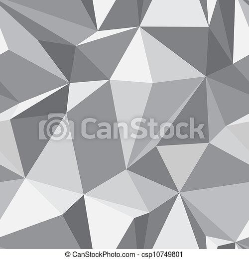diamante, polígono, padrão, abstratos, -, seamless, textura - csp10749801