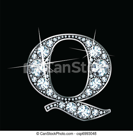 """diamante, vettore, """"q"""" - csp6993048"""